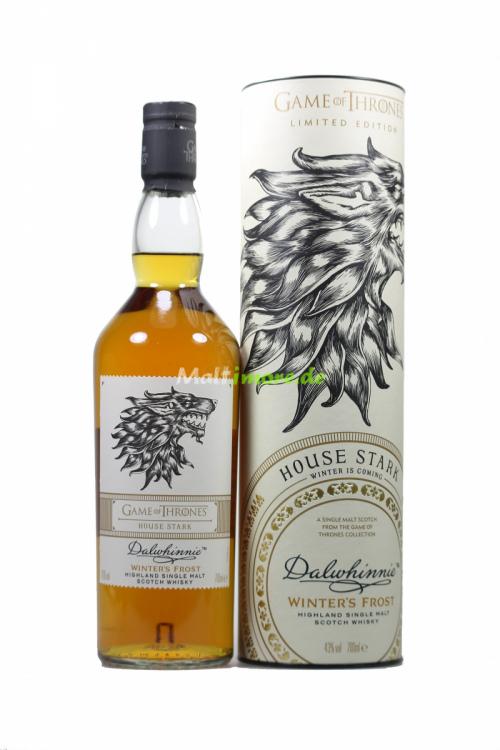 Dalwhinnie Haus Stark Game of Thrones Malts Collection 43% vol. 700ml