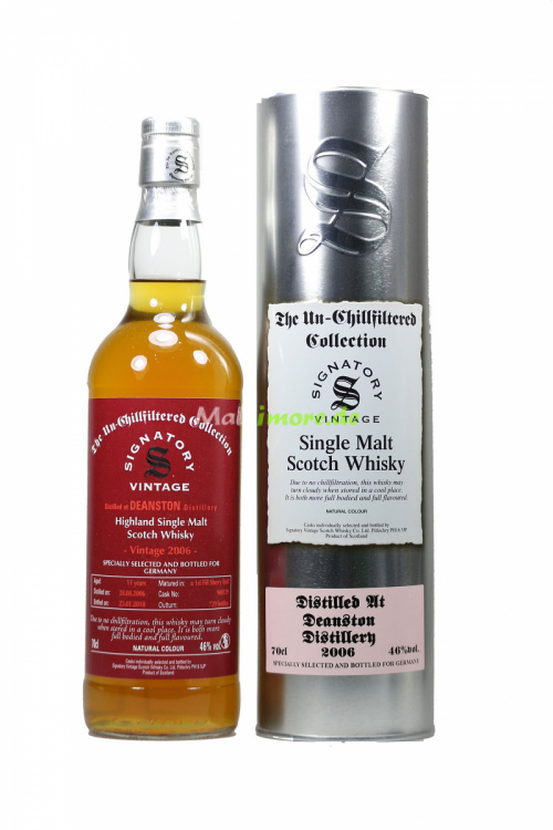 Deanston 2006/2018 SV 1st Fill Sherry Butt 46% vol. 700ml