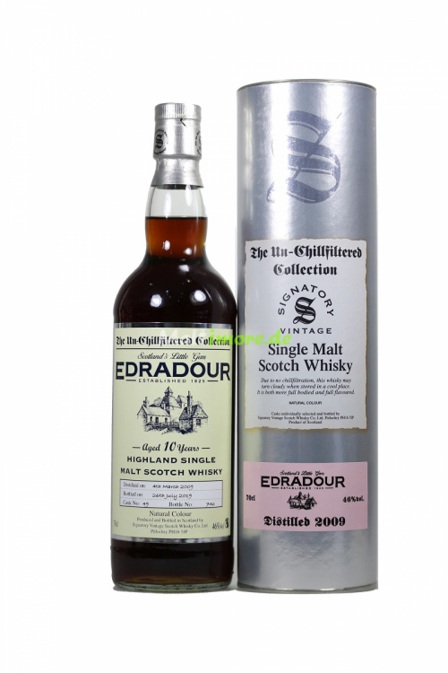 Edradour 2009/2019 SV The Un-Chillfiltered Collection Sherry Cask No.49 46% 700ml