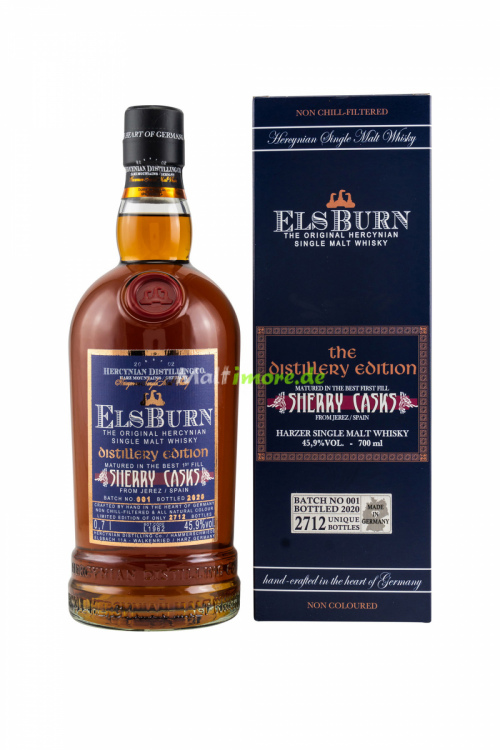 Elsburn The Distillery Edition 2020 Sherry Casks Batch 001 45,9% vol. 700ml
