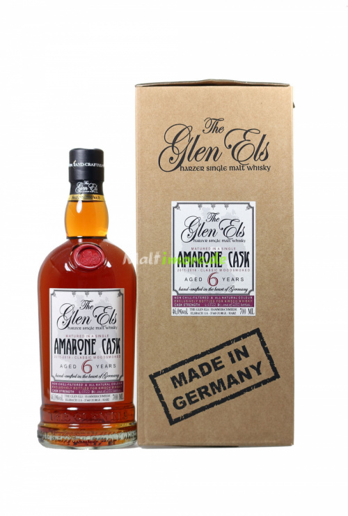 Glen Els 6 Jahre Amarone Cask 2018 Woodsmoked Cask Strength 46% vol. 700ml