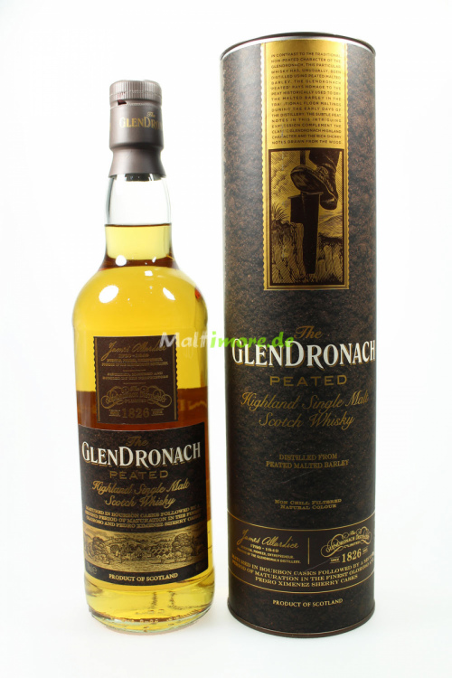Glendronach Peated Cask 46% 700ml