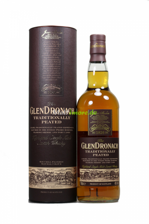 Glendronach Traditionally Peated Cask 48%  vol. 700ml