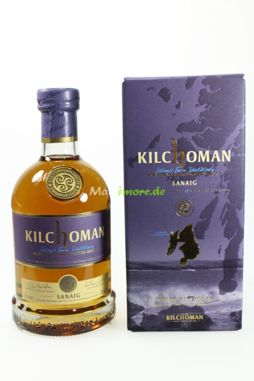 Kilchoman Sanaig Islay Whisky 46% 700ml