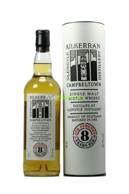 Kilkerran 8 Jahre Cask Strength 55,7% vol. 700ml