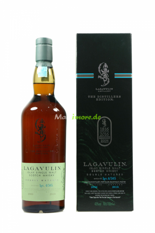 Lagavulin Distillers Edition 2000/2016 43% 700ml