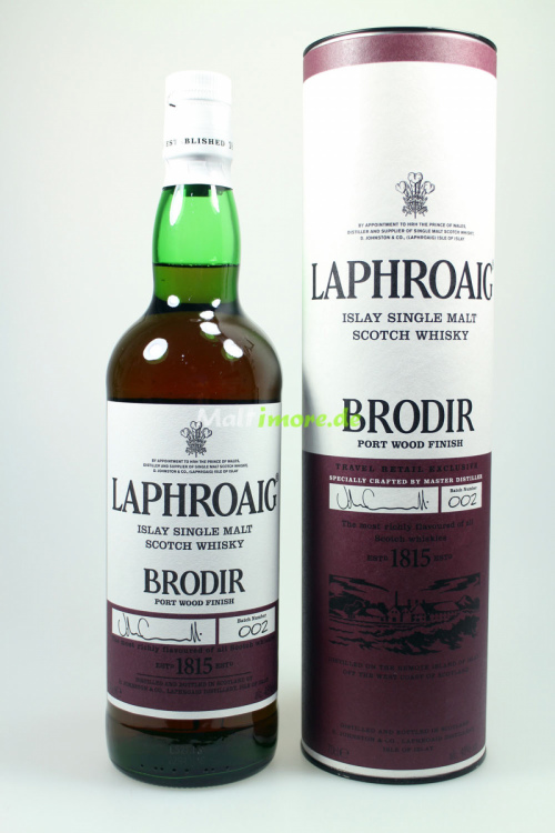 Laphroaig Brodir Batch 002 Port Wood Finish 48% 700ml