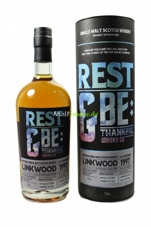 Linkwood 1997 Bourbon Cask 1997/2015 Cask 10195 RBTW 53,1% 700ml