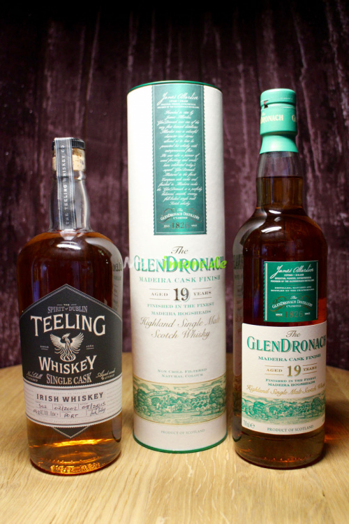 Set XMAS1 Glendronach 19 Madeira + Teeling Single Port Cask 13 Jahre