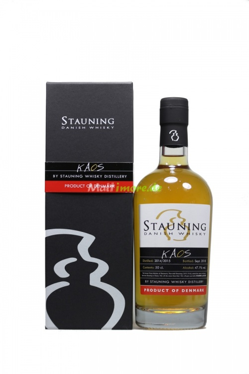 Stauning KAOS 2018 Danish Whisky 47,1% vol. 500ml