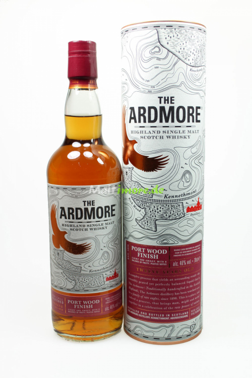 The Ardmore 12 Jahre Port Wood Finish 46% 700ml