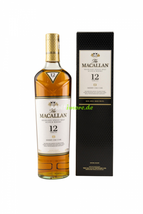 The Macallan 12 Jahre Sherry Oak Casks 40% 700ml