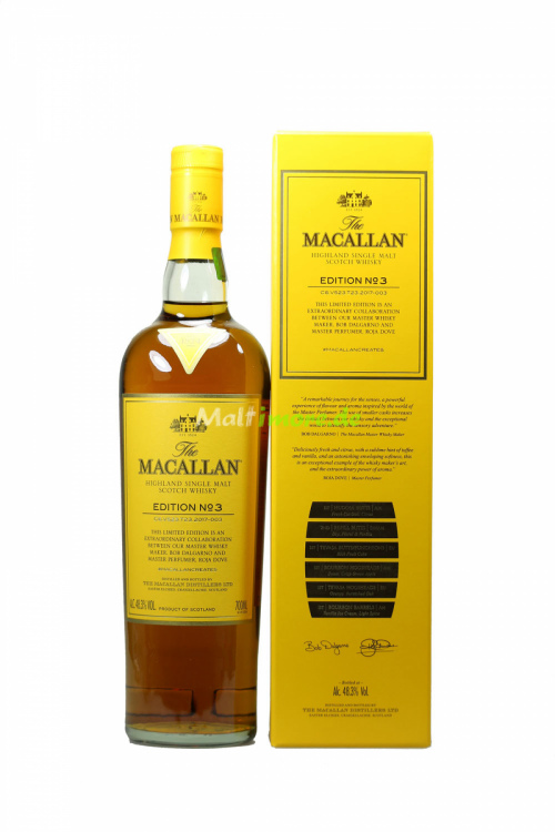 The Macallan Edition No. 3 2017 48,3% vol. 700ml
