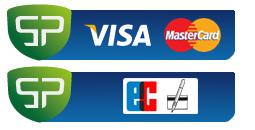 Kreditkarte und Lastschrift