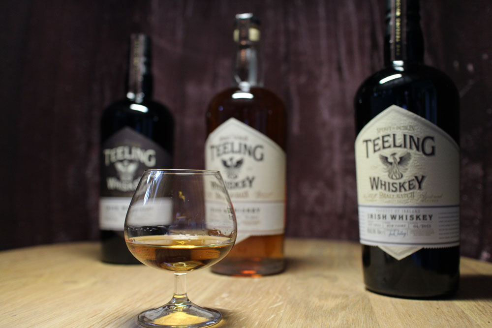 Teeling Single Malt, Teeling Single Grain, Teeling Rum Cask