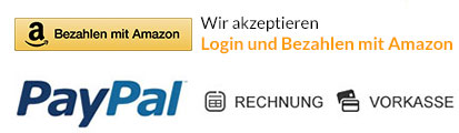 Amazon Payments, Rechnung, Vorkasse, Paypal