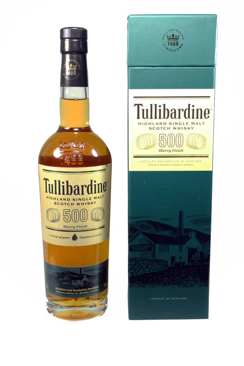 Tullibardine 500 Sherry Finish 43% 700ml