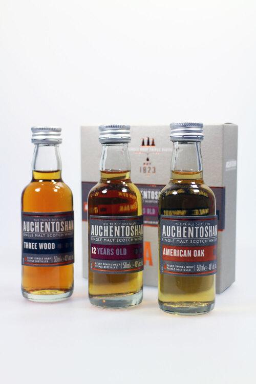 Auchentoshan Miniaturen Set 3x50ml Tasting Set