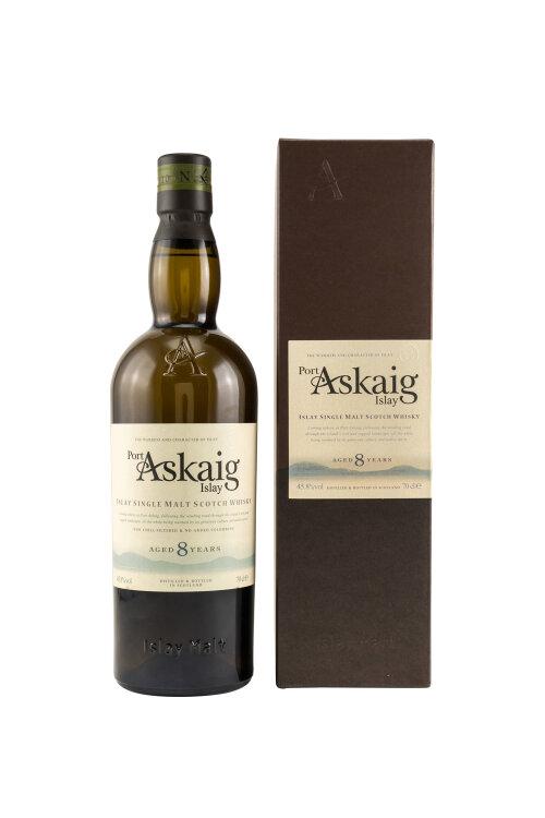 Port Askaig 8 Years Islay Single Malt Whisky 45,8% 700ml