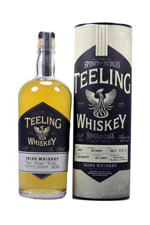Teeling 2003 Single Cask 13917 Bourbon 58,2% 700ml