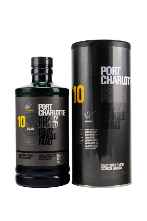 Port Charlotte 10 Jahre Heavily Peated Islay Whisky 50% 700ml