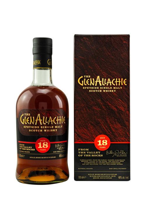 GlenAllachie 18 Jahre 46% vol. 700ml
