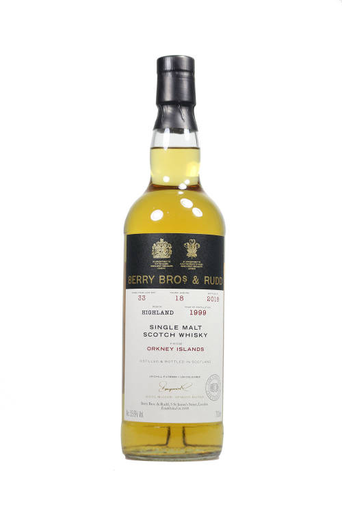 Orkney Islands 1999/2018 Berry Brothers Cask #33 53,6% 700ml