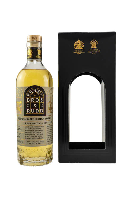 Berry Bros and Rudd Peated Cask Blended Scotch Whisky...