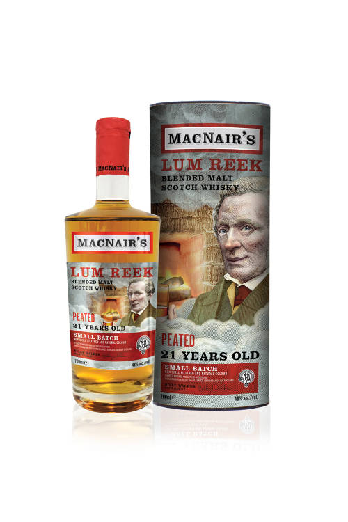MacNairs Lum Reek 21 Jahre Small Batch 48% vol. 700ml