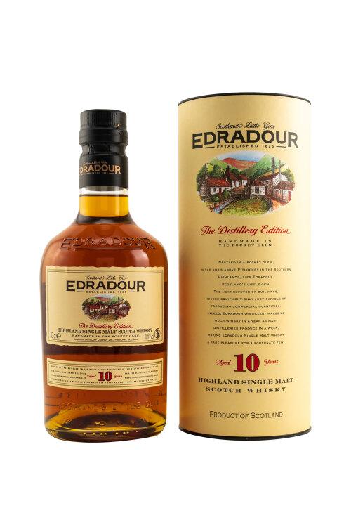 Edradour 10 Jahre The Distillery Edition Highland Single Malt 40% vol. 700ml