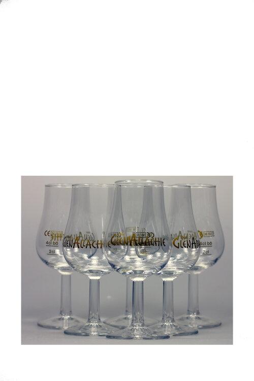 """6x Nosing-Glas """"Glenallachie"""" mit Eichstrich 2cl/4cl"""