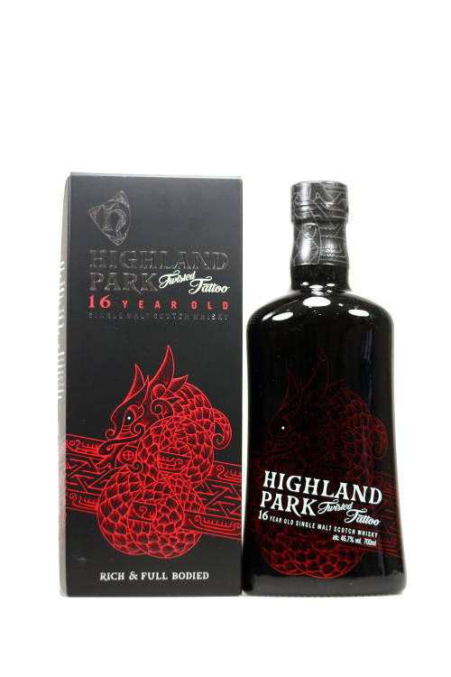 Highland Park Twisted Tattoo 16 Year Old Single Malt Scotch Whisky 46,7% vol. 700ml