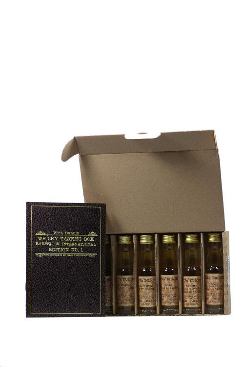"""Whisky Geschenk Box No.7 """"Whisky Raritäten International"""" 6x20ml"""