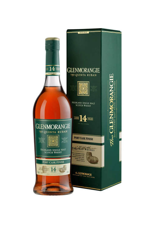 Glenmorangie Quinta Ruban 14 Jahre Port Cask Finish 46% 700ml