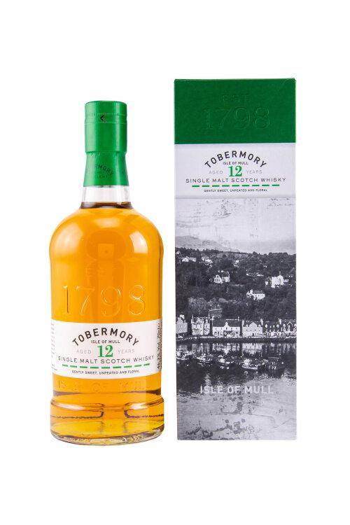Tobermory 12 Jahre Single Malt Scotch Whisky 46,3% 700ml