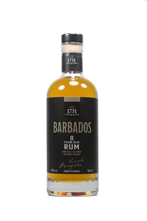 1731 Fine & Rare Barbados 8 year old Rum 46% vol. 700ml
