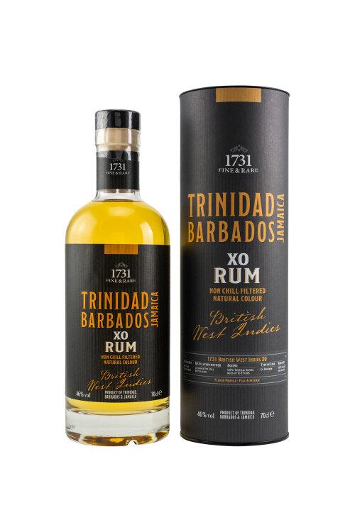 1731 Fine & Rare British West Indies XO Rum 46% vol. 700ml