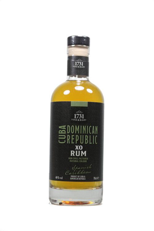 1731 Fine & Rare Spanish Caribbean Rum 46% 700ml
