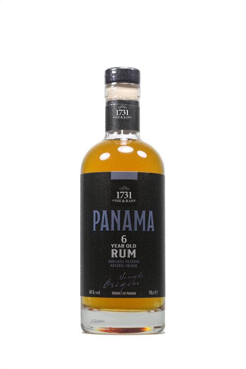 1731 Fine & Rare Panama 6 years old Rum 46% vol. 700ml