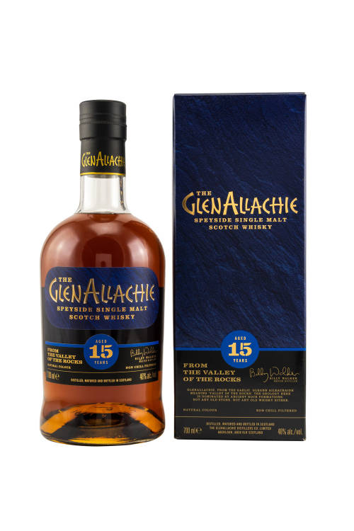 GlenAllachie 15 Jahre Single Malt Whisky 46% vol. 700ml