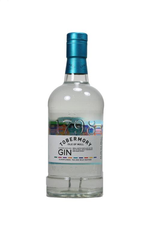Tobermory Gin Isle of Mull Hebridean Gin 43,3% vol. 700ml