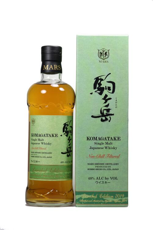 Mars Komagatake Limited Edition 2019 Single Malt Japanese Whisky 48% vol. 700ml
