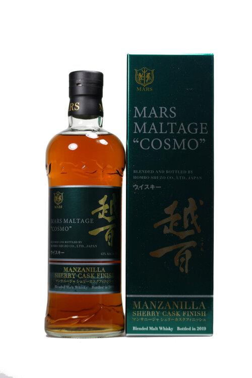 Mars Maltage Cosmo Manzanilla Sherry Finish Japanese Whisky 42% vol. 700ml