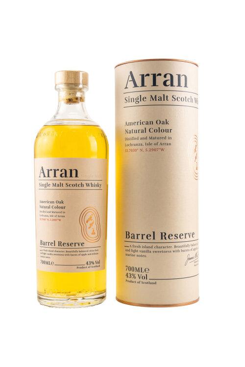 Arran Barrel Reserve Single Malt Scotch Whisky 43% vol. 700ml
