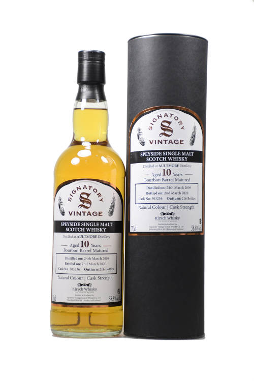 Aultmore 2009 CS #303236 bourbon Barrel Matured by Kirsch 58,8% vol. 700ml