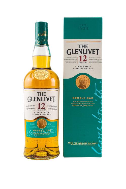 Glenlivet 12 Jahre Double Oak Single Malt Whisky 40% vol. 700ml