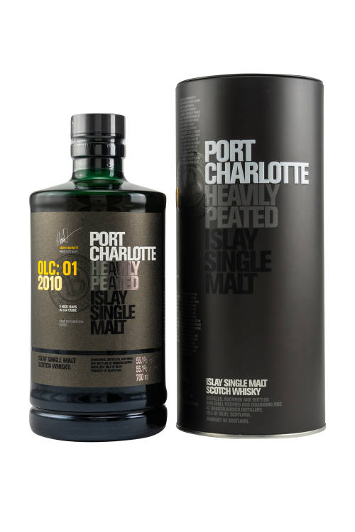 Port Charlotte 2010 OLC:01 Heavily Peated Islay Whisky 55,1% vol. 700ml