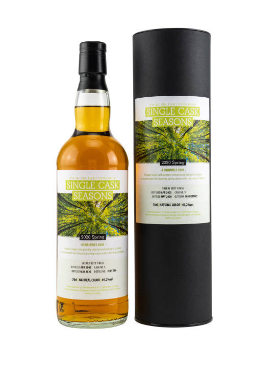 Benrinnes 2005/2020 SV Single Cask Seasons Spring 2020 Sherry Butt Finish 49,2% 700ml