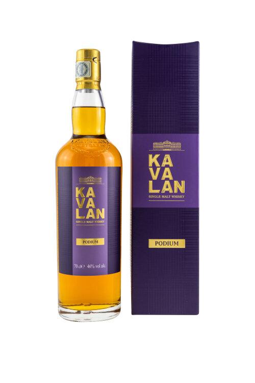KAVALAN Podium Single Malt Whisky 46% vol. 700ml
