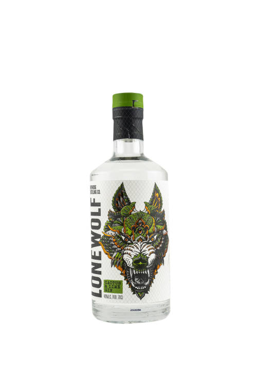 LoneWolf Cactus and Lime Craft Gin 40% vol. 700ml